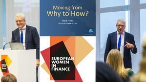 European Women in Finance – Moving from why to how?