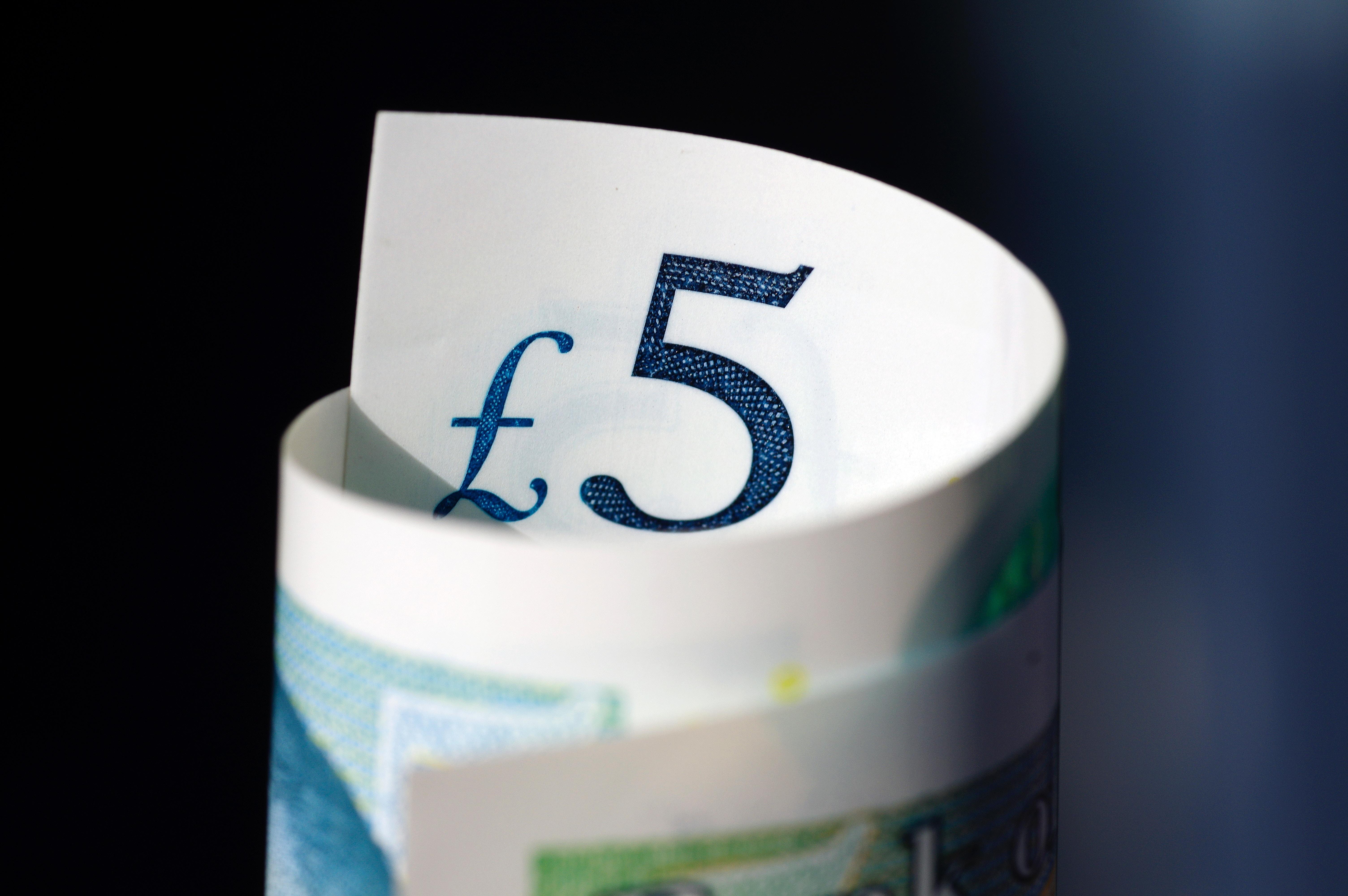 Women in Finance 5 Pound Note