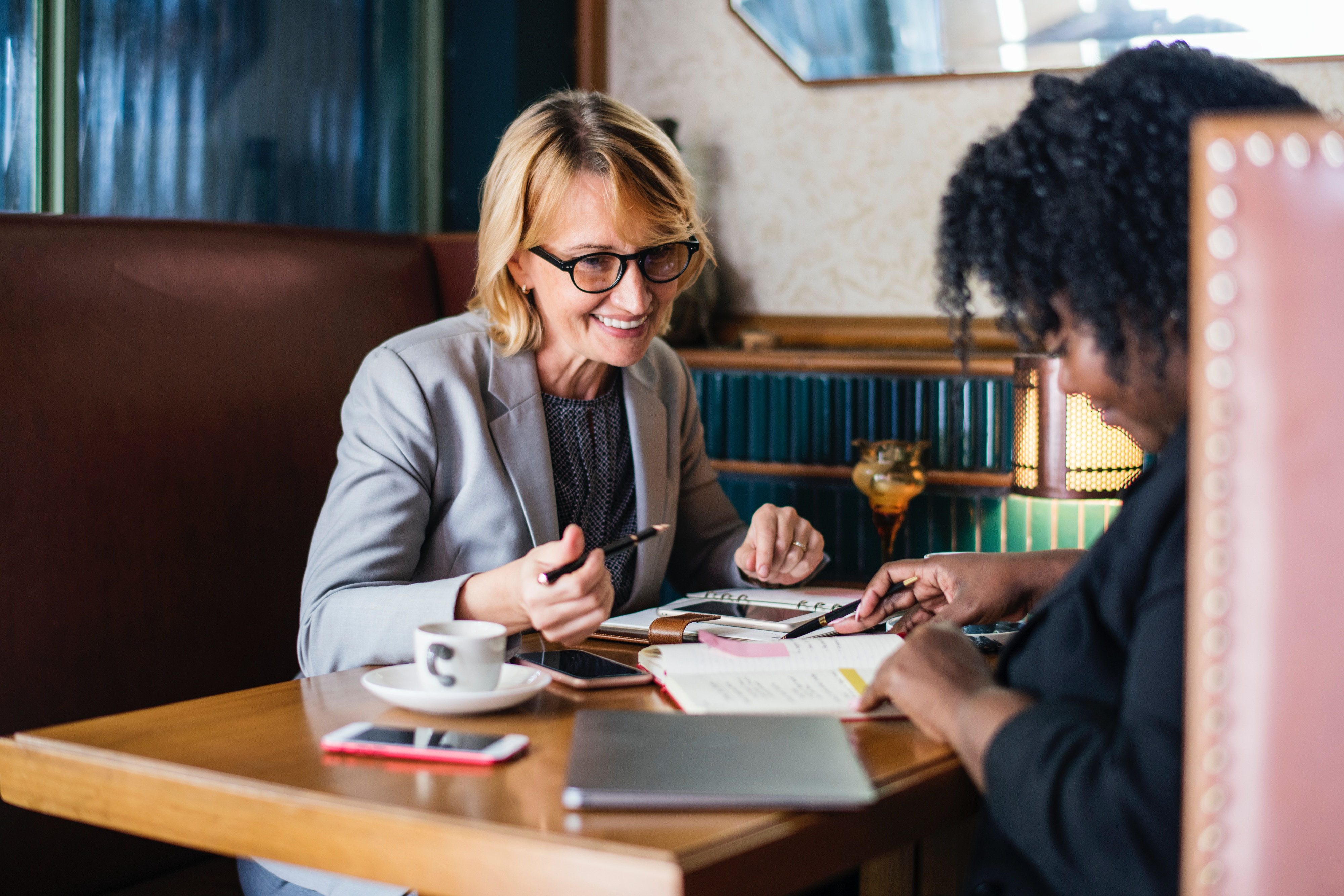 Women in Finance Coffee Shop